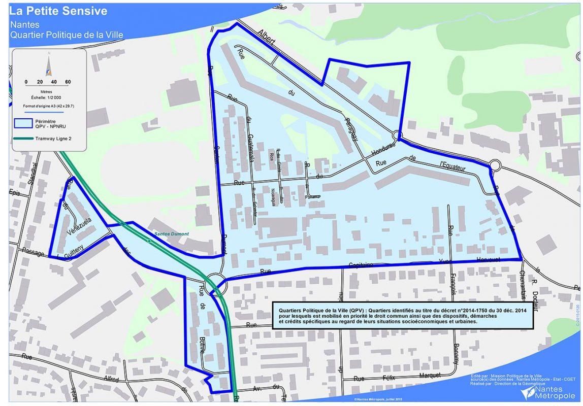 Quartier Prioritaire Nantes Nord Politique De La Ville Nantes Metropole